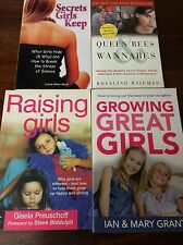 GROWING RAISING GREAT GIRLS QUEEN BEES SECRET GIRLS KEEP PREUSCHOFF GRANT SILVER