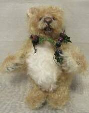 """ADORABLE LIMITED EDITION ARTIST OPEN MOUTH TEDDY BEAR """"BARRE"""" ARTIST FABIAN SONG"""