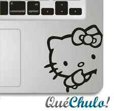 VINILO PEGATINA STICKER MACBOOK AIR/PRO/RETINA 11 13 15 17 INCH HELLO KITTY