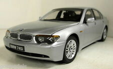 Kyosho 1/18 Scale 08571S BMW 745i Silver diecast model car