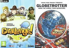 Globetrotter globe trotter & national geographic challenge