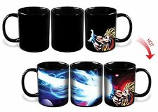 Dragon Ball Z SSJ Goku Heat Reactive Colour Changing Ceramic Coffee Mug