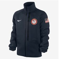 2014 NWT MENS NIKE SPHERE USA OLYMPIC TRACK JACKET 2XL obsidian blue white
