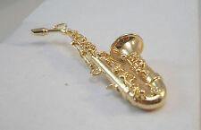 Saxophone 1.729/4  Reutter Porcelain Dollhouse miniature 1/12 scale metal