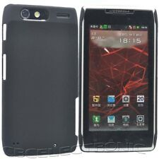 New Black Rubberized Hard case cover for Motorola XT910 Droid RAZR