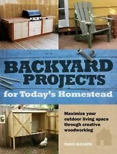 Chris Gleason - Backyard Projects For Todays H (2012) - Used - Trade Paper