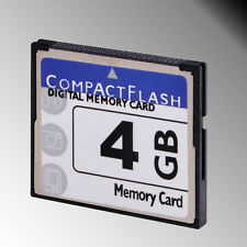 High Speed 4GB 4G 4 GB Compact Flash CF Memory Card CF Card for DSLR HD Camera