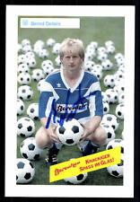 Bernd Deters Autogrammmkarte SV Meppen Original Sign+A 94177