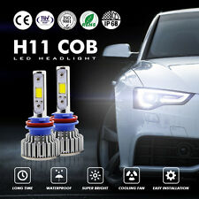 1PAIR 120W 12000LM CREE LED HEADLIGHT BULBS KIT 9005 HB3 6000K WHITE HIGH BEAM