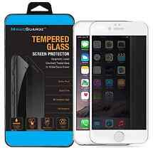 "Privacy (White Frame) Anti-Spy Tempered Glass Screen Protector for 4.7"" iPhone 6"