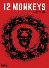 12 Monkeys: Season 1 (DVD 2016_ Science Fiction Drama Remake Time Travel Thrille