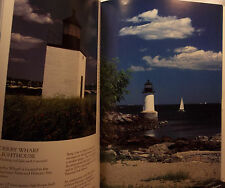 THE LIGHTHOUSES OF MASSACHUSETTS-WALLY WELCH-PICTORIAL GUIDE-PHOTOGRAPHY-HISTORY