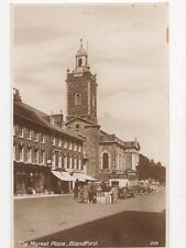 The Market Place Blandford RP Postcard  203a