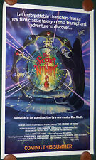 THE SECRET OF NIMH 1982 ORIGINAL ROLLED ADVANCE 1 SHEET MOVIE POSTER DON BLUTH