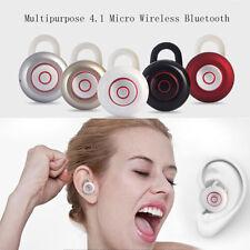 Multiuso 4.1 Micro Wireless Bluetooth Auricolare Mini 6 Audio auricolari Cuffie