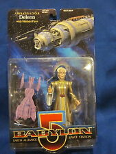 Babylon 5 Ambassador Delenn With Bone Head & Gold Dress Sealed