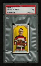 PSA 7 BRUCE RIDPATH 1911 C55 Hockey Card #14  (Only 6 Cards Graded Higher)