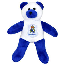 REAL Madrid Fc Crest Soft Mini Teddy BEAR TOY contrasto bambino Kids regalo di Natale NUOVO