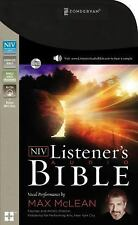 The NIV Listener's Audio Bible : Vocal Performance by Max Mclean (2015, CD)