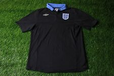 ENGLAND NATIONAL TEAM 2011/2012 FOOTBALL SHIRT JERSEY AWAY UMBRO ORIGINAL SIZE L