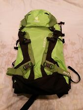 Deuter Guide 35+ Alpine, Hiking, Climbing, Skiing, Backpacking Pack +Helmet Bag