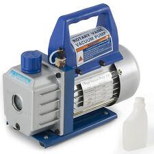 1/3HP 3CFM R410a R134 HVAC AC Air Tool Freon Charge Rotary Vane Deep Vacuum Pump