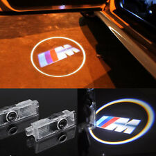 2x CREE LED CAR DOOR COURTESY LASER PROJECTOR LOGO GHOST SHADOW LIGHT BMW M3 12V