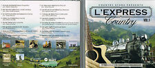 L'Express Country, Vol.1 Artistes Country Varies CD BRAND NEW at MusicaMonette