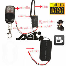 HD 1080P DIY Module SPY Hidden Camera Video Cam DV DVR Motion+Remote Control