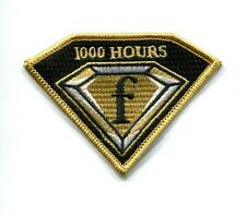 BOEING F-18 F SUPER HORNET 1000 FLIGHT HOURS US NAVY USMC Fighter Squadron Patch