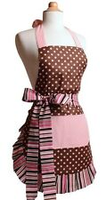 3-Flirty Apron Pink NIP ~1 Women's and 2 Girls' ~ Mother's  Day Gift Daughter