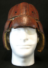AWESOME Old Early Antique 1920's Leather Football Helmet Vintage LQQK