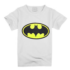 Kids Boys T-shirt Batman Superman Cartoon Short Sleeve Casual Cotton Top T Shirt