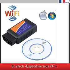 Interface de diagnostique WIFI OBDII ELM327 V 1.5