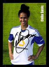 Celia Sasic Autogrammkarte 1. FFC Frankfurt 2013-14 Original + A 135657