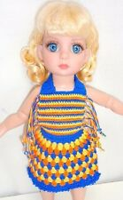 "Crochet Sundress Fashion Outfit fits YoSD BJD 10"" Doll Tonner Patsy Ann Estelle"