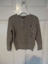 NWT POLO RALPH LAUREN PULLOVER SWEATER  3/3T