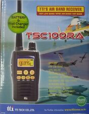 TTI TSC100RA 66-174MHz 200 Channel Radio Scanner + Batteries + UK Charger