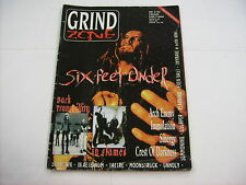 GRIND ZONE - #05/1999 MAGAZINE GOOD CONDITION - SIX FEET UNDER - IN FLAMES