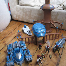Thundercats Toys Large Bundle Lot Thundertank Figures Tower of Omens Bandai 2011