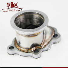 "2.5"" 63mm V-band Clamp Flange Turbo Down Pipe Adapter for T25 T28 GT25 GT28"