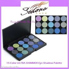 NEW Sedona Lace 15-Color ULTRA SHIMMER Eye Shadow Palette FREE SHIPPING Powder