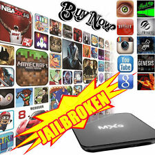 S905X Smart TV BOX Android 6.0 Quad Core 4K Player Fully Loaded MXQ Pro WiFi