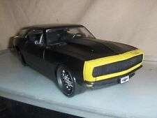 Toy Jada Dub 1:24 Black 1967 Chevy Camaro Car show Hot Rod