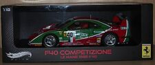 FERRARI F40 COMPETIZIONE Le Mans 1995 #40  by Hot Wheels Elite  1:18 scale