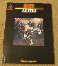KISS ALIVE! GUITAR 16 TABS SONGBOOK NEW