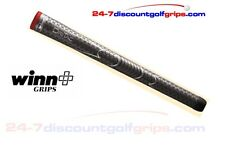 2015 Winn Dri-Tac golf grips - dark grey