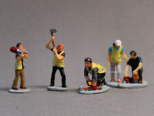 LIONEL LOGGERS PEOPLE PACK FIGURES O GAUGE worker forrest trees axe 6-81871 NEW