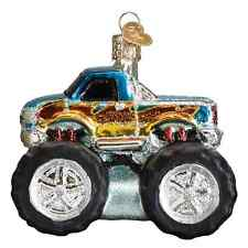 """""""Toy Monster Truck"""" (44095) Old World Christmas Ornament"""