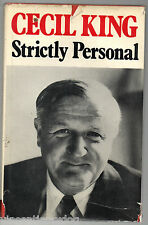 Strictly Personal by Cecil King (Hardback, 1969)